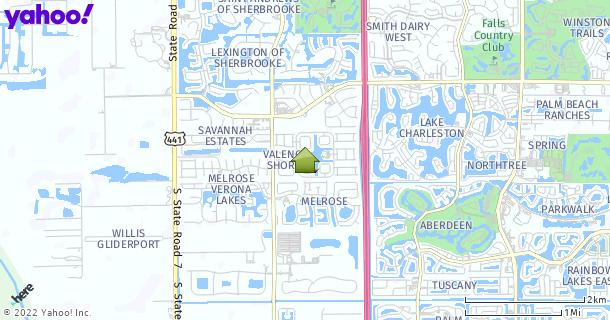 Map of Lake Worth, FL