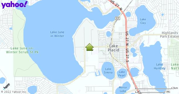 Map of Lake Placid, FL
