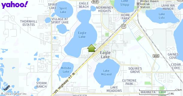 Map of Eagle Lake, FL