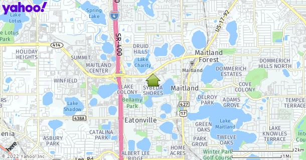 Map of Maitland, FL