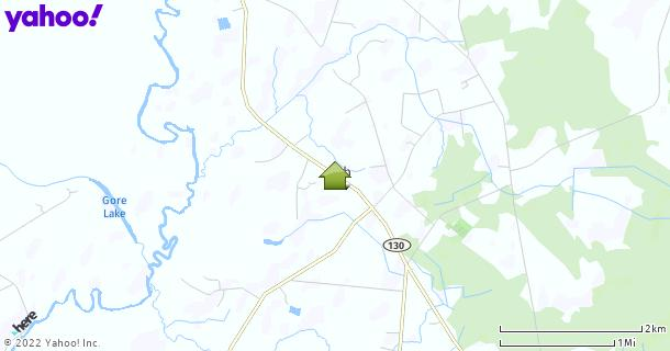 Map of Ash, NC