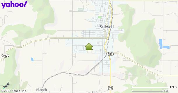 Map of Stilwell, OK