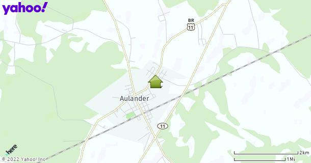 Map of Aulander, NC
