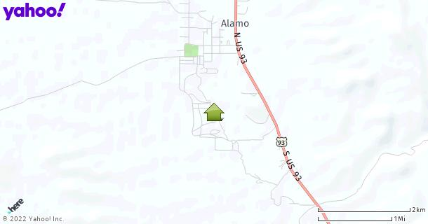 Map of Alamo, NV