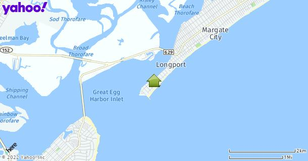 Map of Longport, NJ