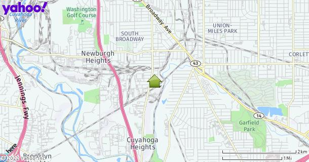 Map of Newburgh Heights, OH