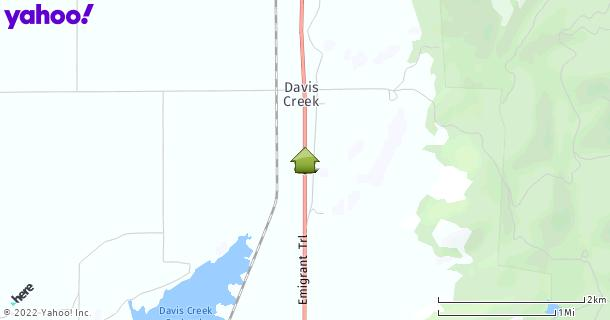 Map of Davis Creek, CA