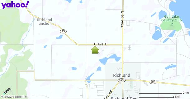 Map of Richland, MI