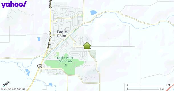 Map of Eagle Point, OR